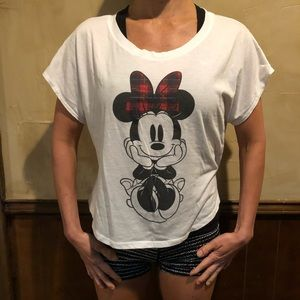 Disney Minnie Mouse Tee soft and worn in already